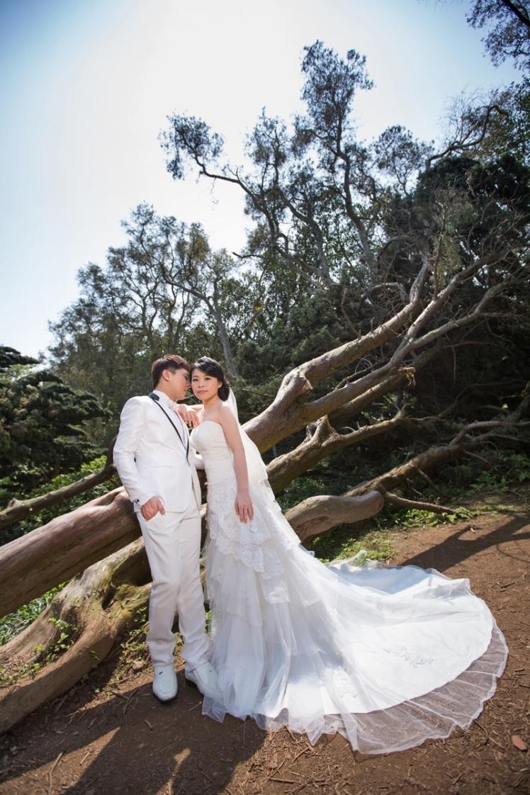 森林系婚紗照-桃園婚攝強哥