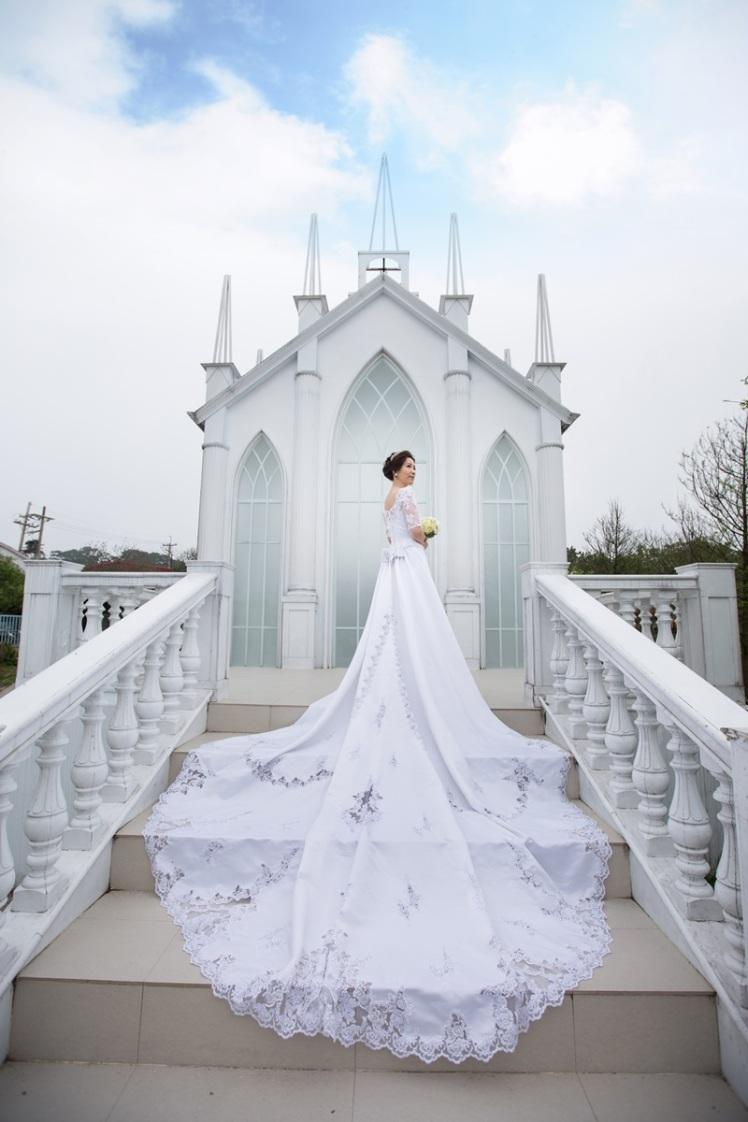 教堂婚紗攝影-桃園婚攝強哥