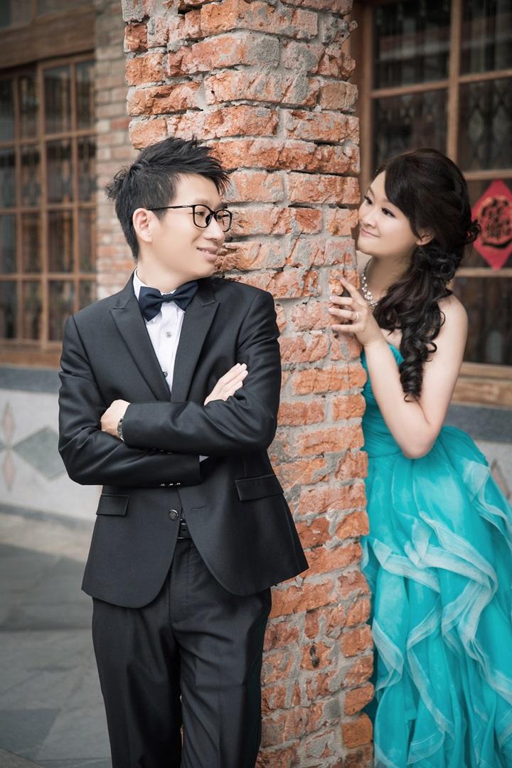 中式建築復古婚紗照-桃園婚攝強哥