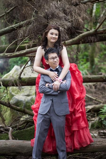 森林婚紗照-桃園婚攝強哥