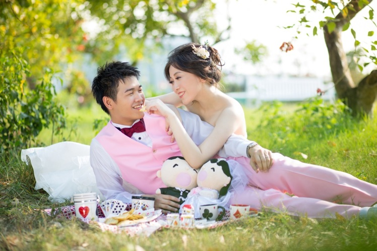 野餐風婚紗照-桃園婚攝強哥