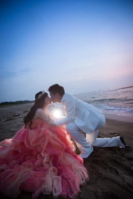 海邊婚紗照-桃園婚攝強哥