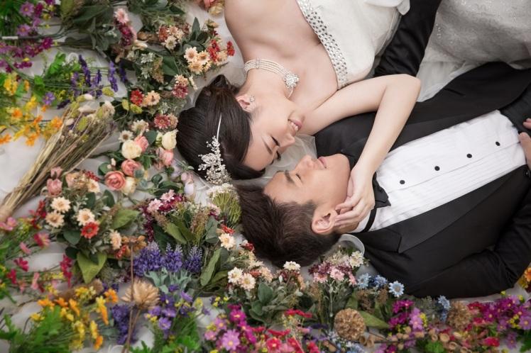 乾燥花婚紗照-桃園婚攝強哥